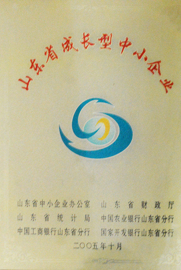 山東省成長型中小企業