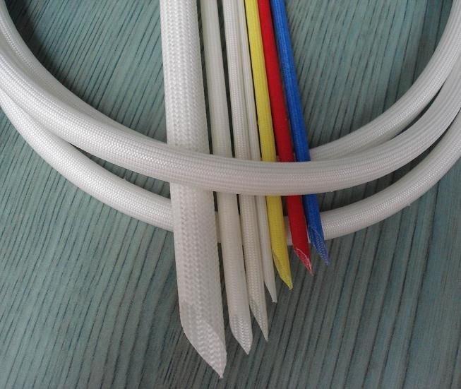 SRG-514 Self-Extinguishable Fiberglass Sleeving with Silicone Resin Coating
