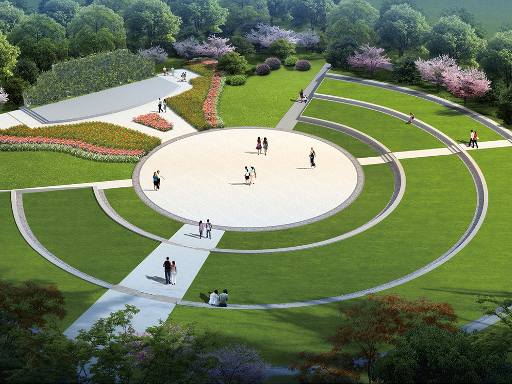 景德鎮市人民公園改造