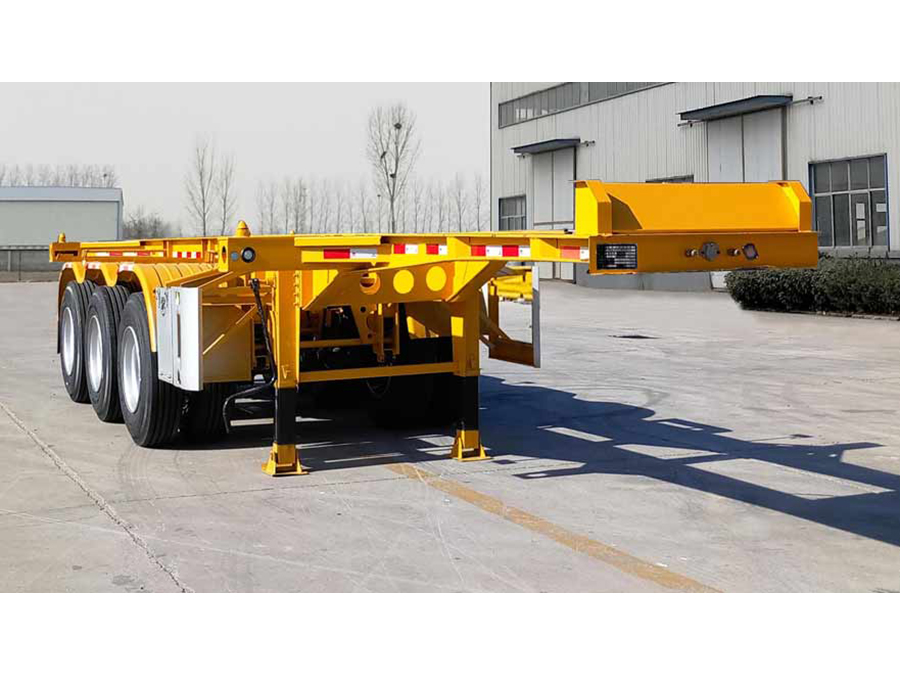 FMT9401TJZG型集裝箱運輸半掛車