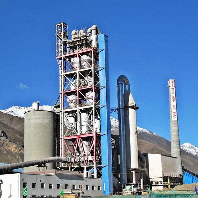 西藏高爭預熱器收塵器增濕塔