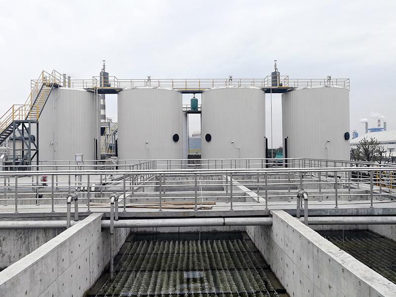 嘉兴逸鹏化纤有限公司废水处理工程