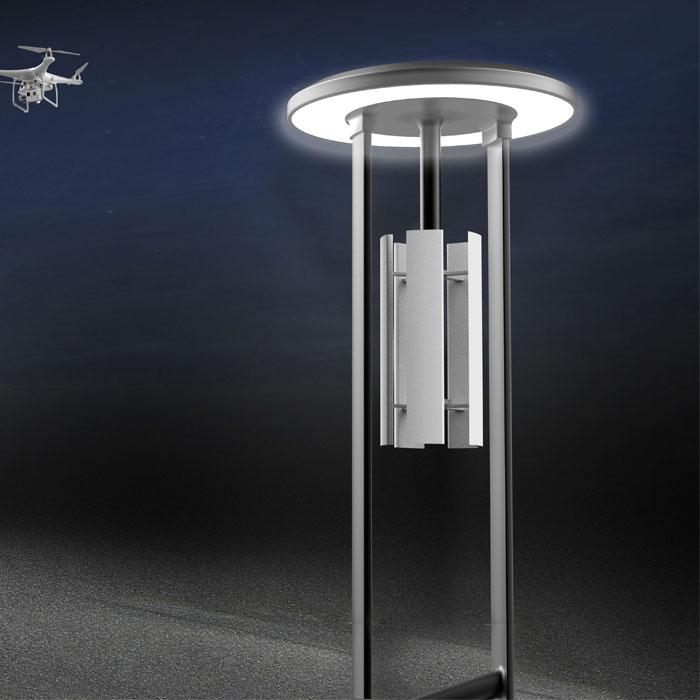 一等獎-無人機智慧停機燈桿
