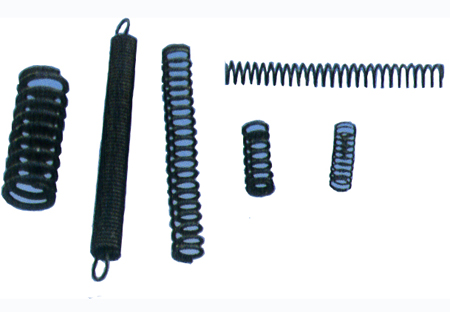 Extension spring, compression spring