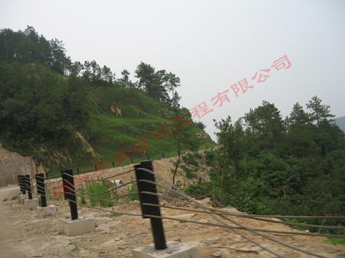 柯岩大香林风景区路堑边坡开挖工程