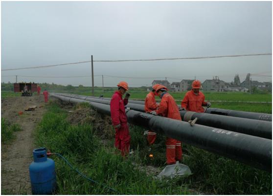 常熟市G204國道(古里調壓站~鎮南路)天然氣管線工程