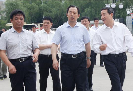 省委副書記、省長陸昊到企業調研2