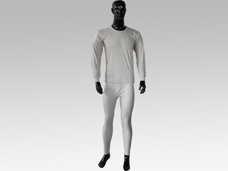 防靜電棉毛衫褲(男款)