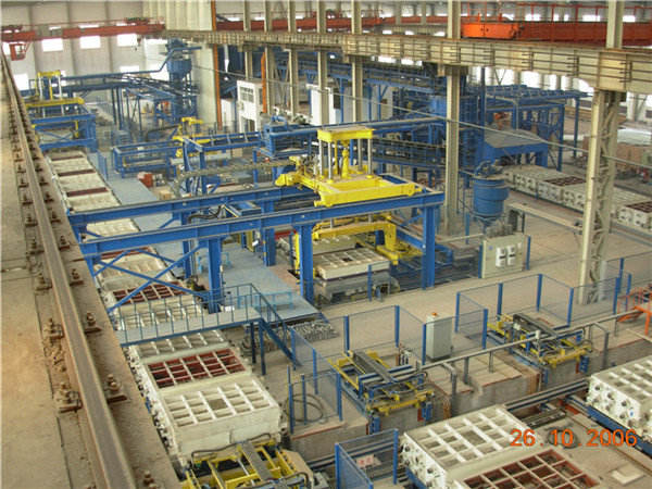 Intelligent type vacuum process molding Line
