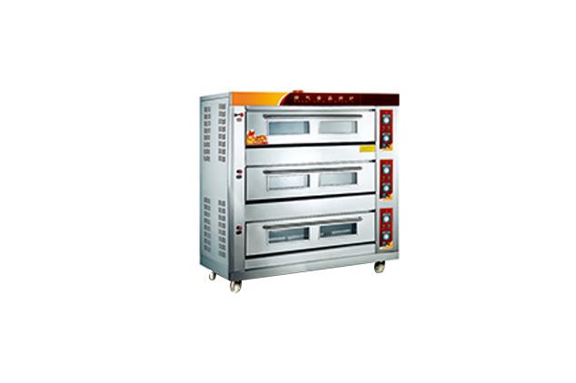 三門燃氣食品烤箱