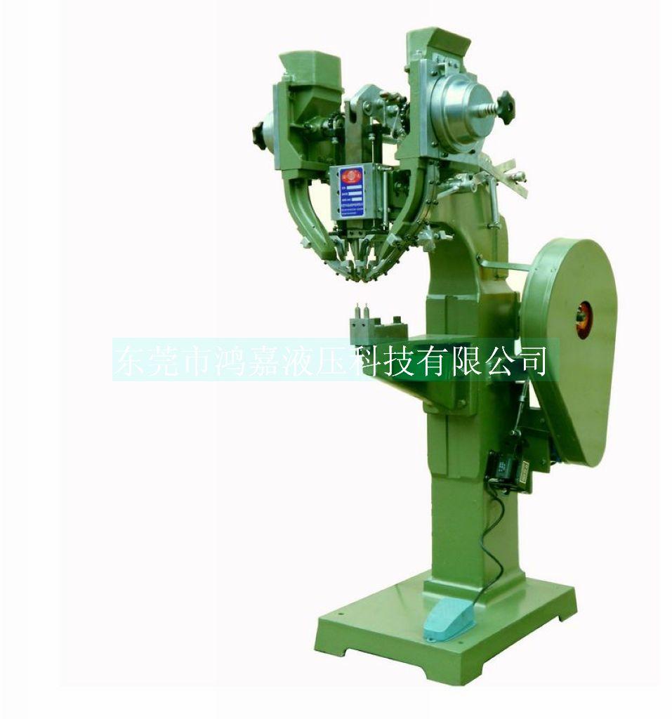 CD-J12E1立式雙粒鉚釘機