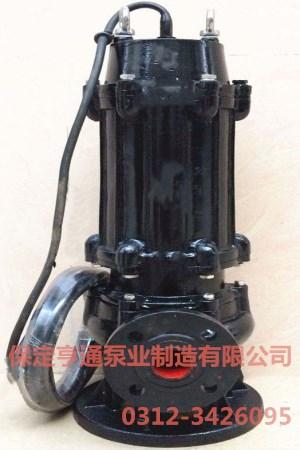 100WQ100-15-7.5無堵塞潛水排污泵
