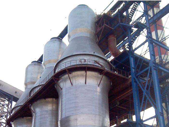 天津荣程1390m3高炉热风炉系统EPC工程