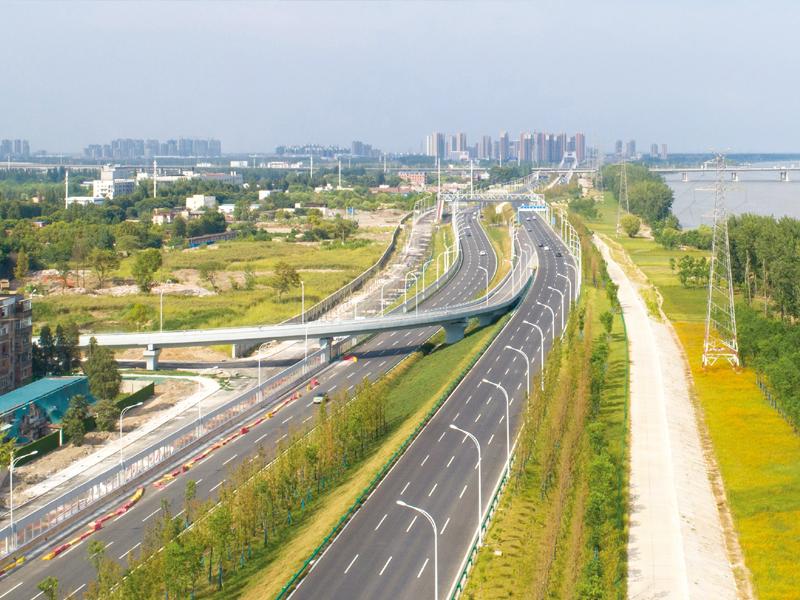 武漢江北快速路景觀