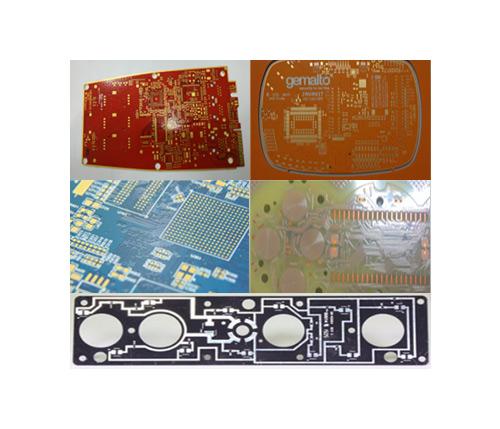 多種阻焊顏色印制板