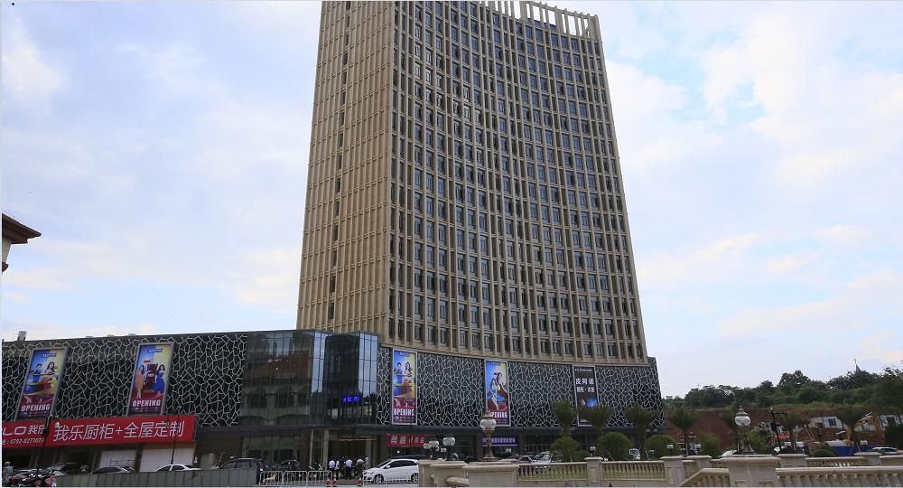 九江禧徠樂國際商業中心家具城A、B館室內裝修工程03
