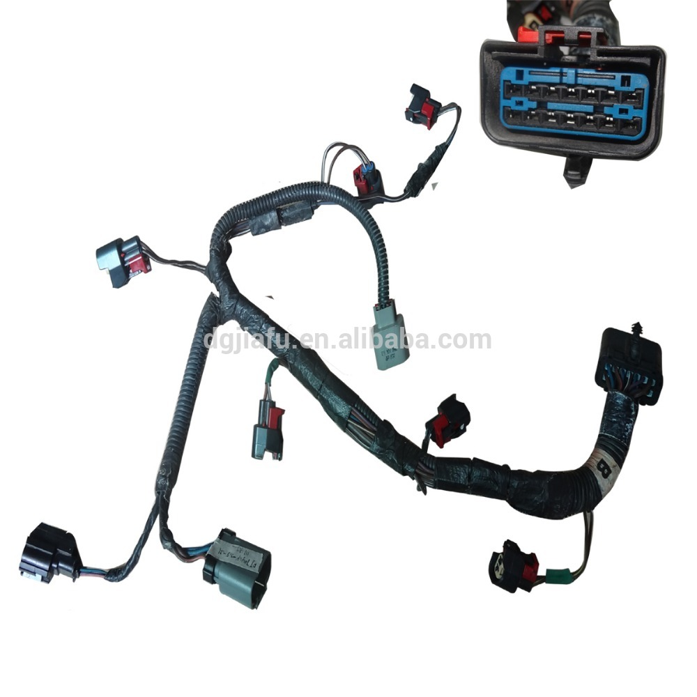12 way automotive engine harness LPG / CNG harness custom assembly