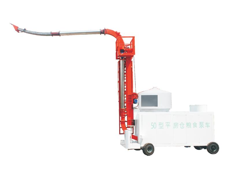 平房倉型糧食泵車