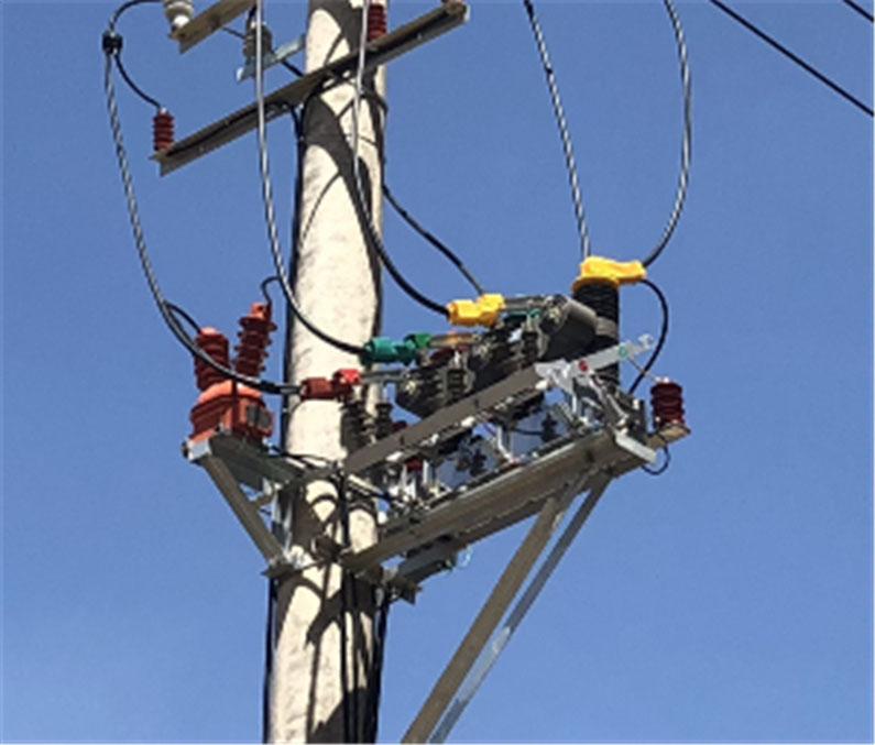 陕西供电公司ZW32柱上断路器