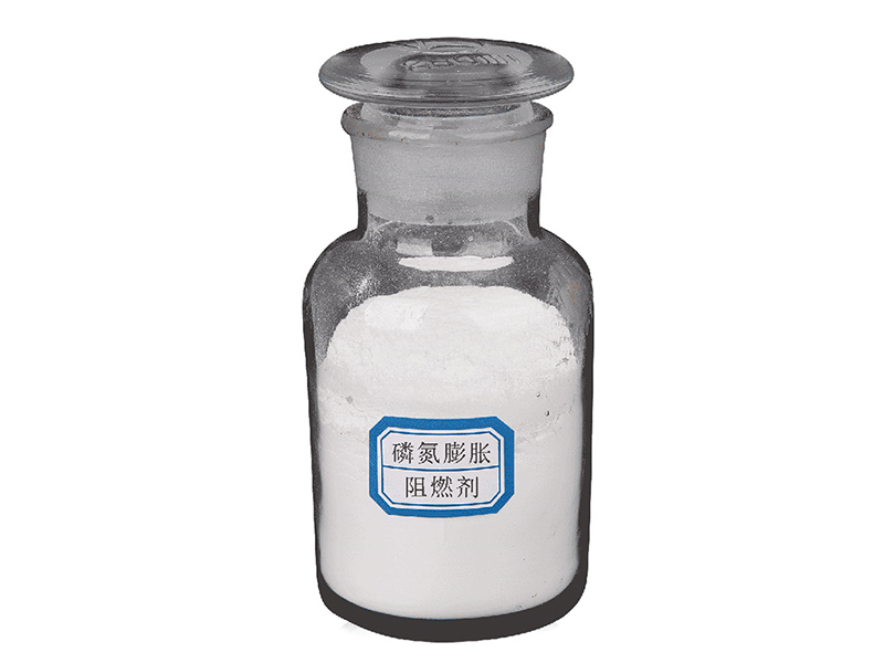 Phosphorous nitrogen expansion flame retardant