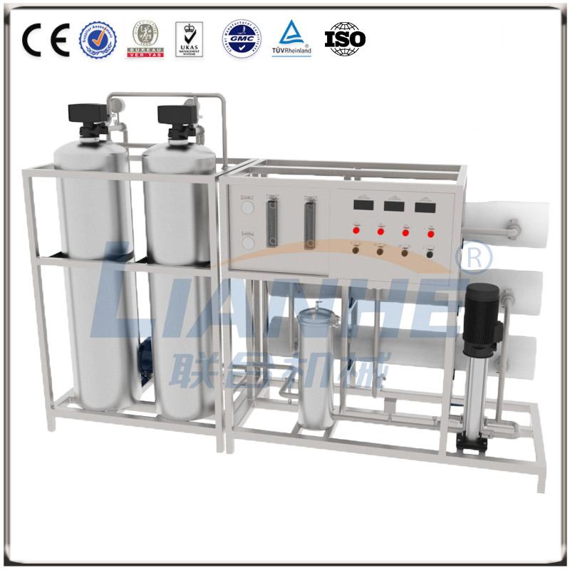 3T/h一级反渗透水处理(不锈钢双柱,自动阀)