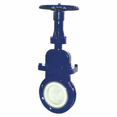 Ceramic concealed rod slurry valve