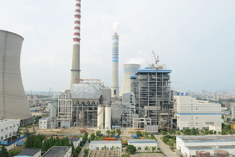 江蘇新海發電15-16#機組煙氣脫硫改造項目