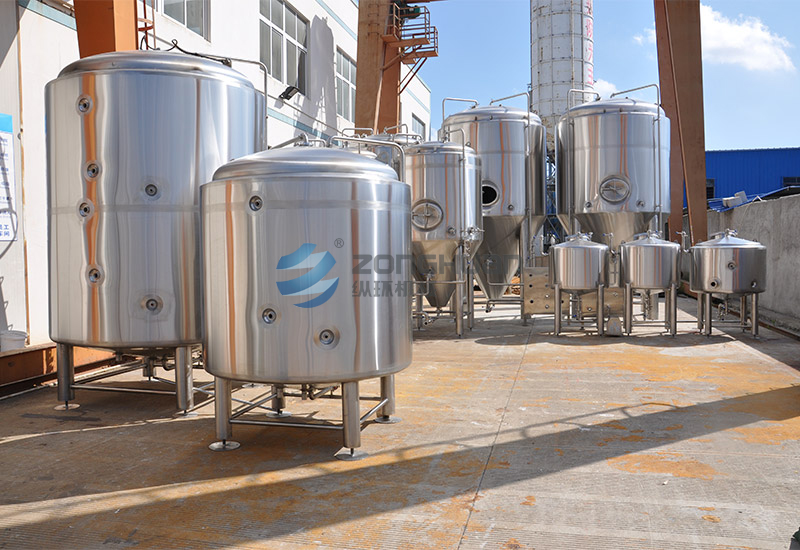 20 BBL brewery factory project