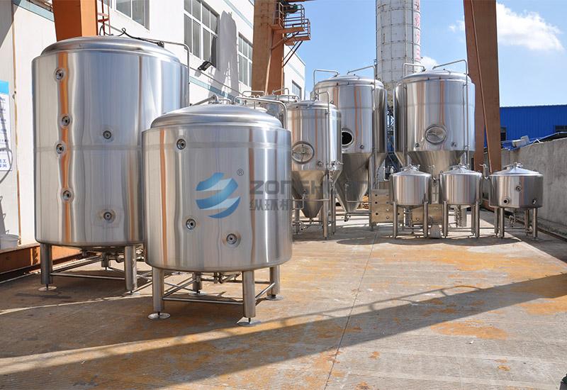 20BBL 啤酒廠工廠項目案例