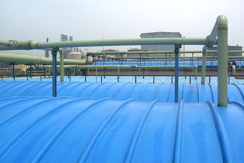 遼陽污水池集氣罩案例