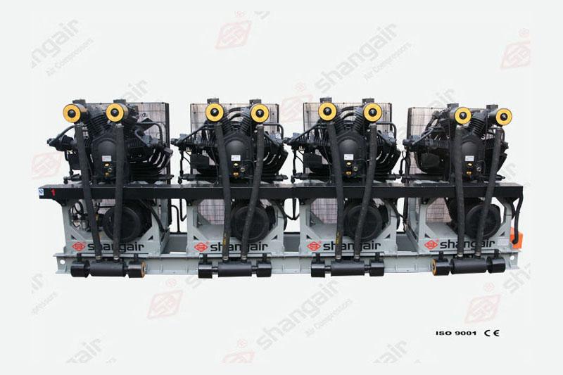09SH系列空气压缩机(立式四机)