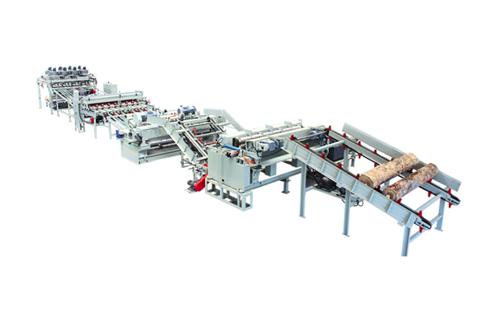 CNC non spindle rotary cutting production line