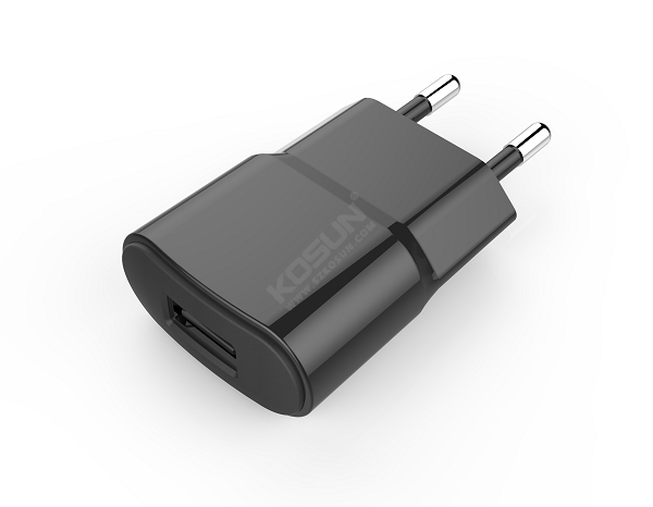 5W Single USB Port European Wall Charger