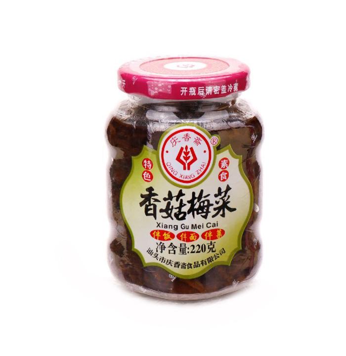 220g香菇梅菜