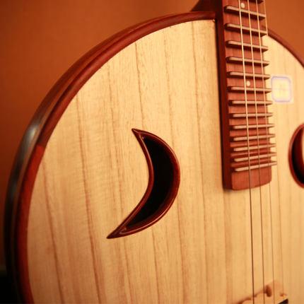 樂海中阮樂器徐陽簽名阮族贊比亞紫檀木專業演奏中阮琴 5119Z-AA
