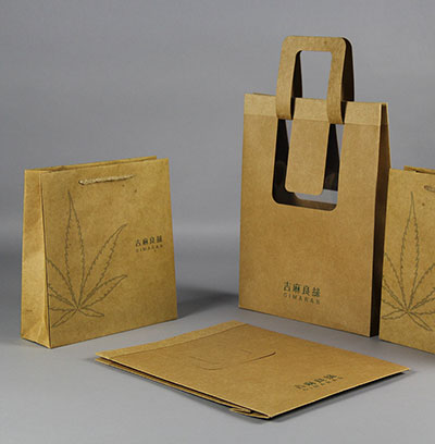 Creative Kraft Carton Customized gift bag packaging bag