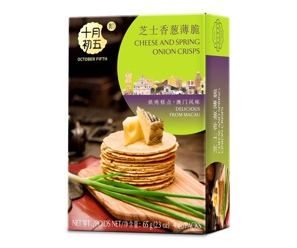 65gX24boxes  Cheese and Spring Onion Crisps