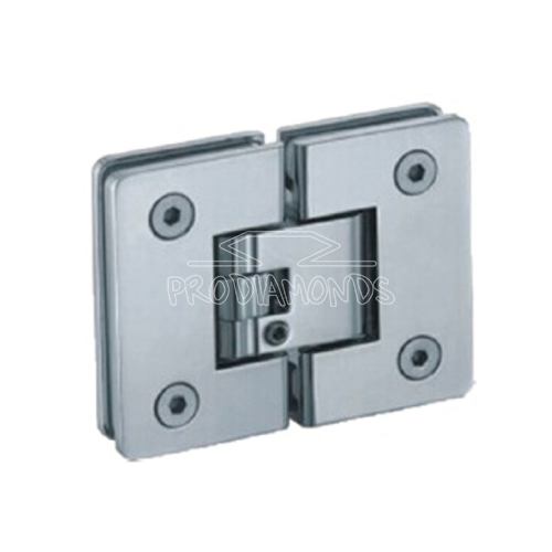 adjustable clicking hinge glass to glass