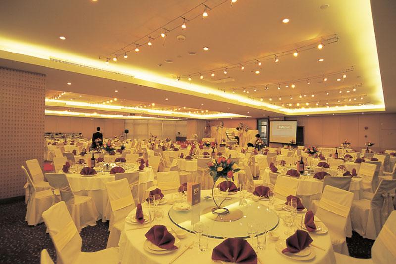 上海古井假日酒店客房、宴廳室內裝飾