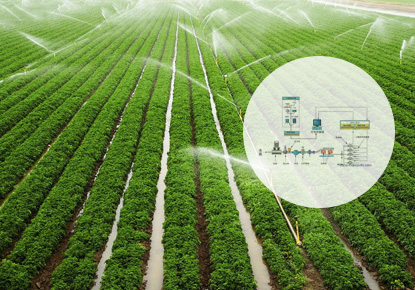 Water and fertilizer integrated control system