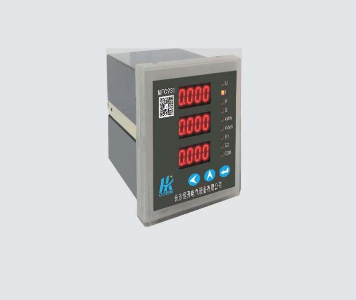 MFC931系列三相可编程数字仪表型号列表