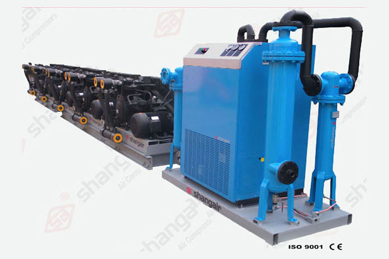 83SH Series Air Compressor (Five-Engine Set)