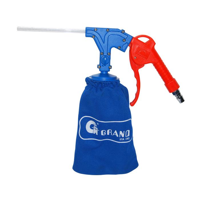 Pneumatic cleaning gun
