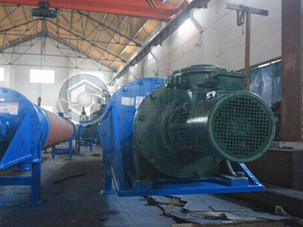 Shenwu Group Xinjiang Tianli Environmental Protection Co., Ltd.-preheating screw feeder