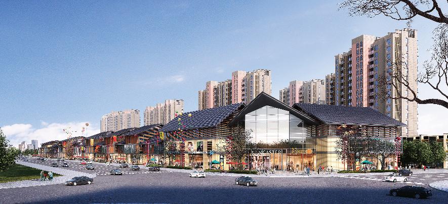 江西萬載核心區新建一期(1-3)樓幕墻工程