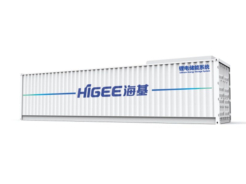 Container type medium and small energy storage power station system