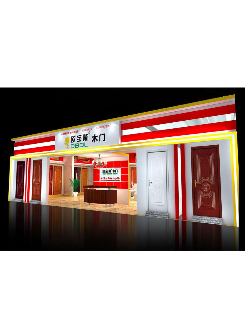 專賣店形象VI圖片-店內效果1