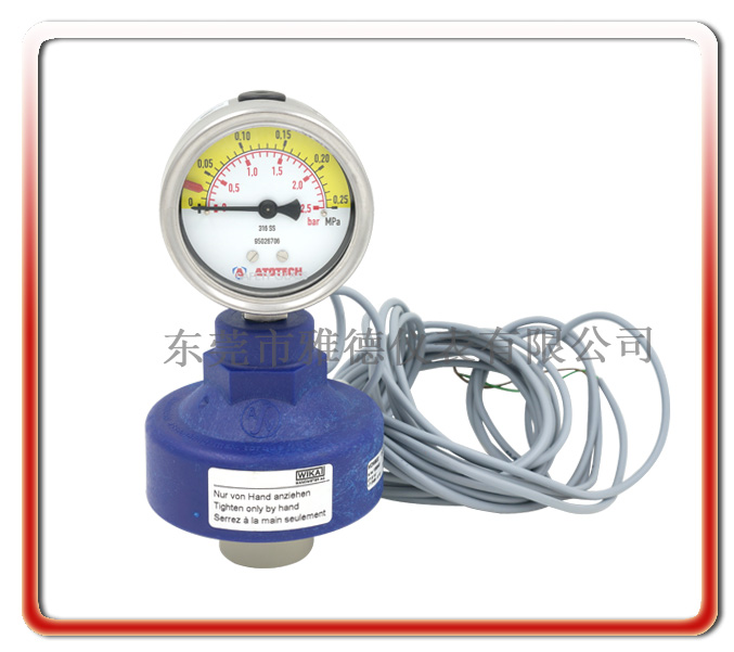 ATOTECH電鍍線感應器壓力表