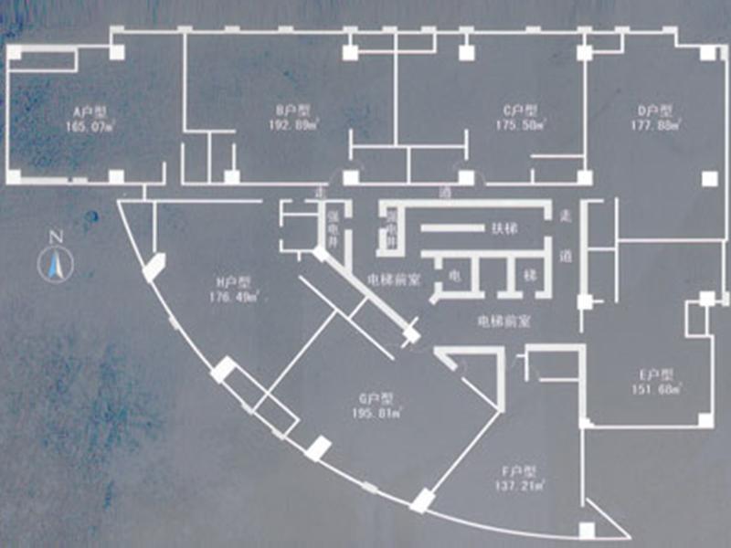 國棟中央商務大廈 商務樓