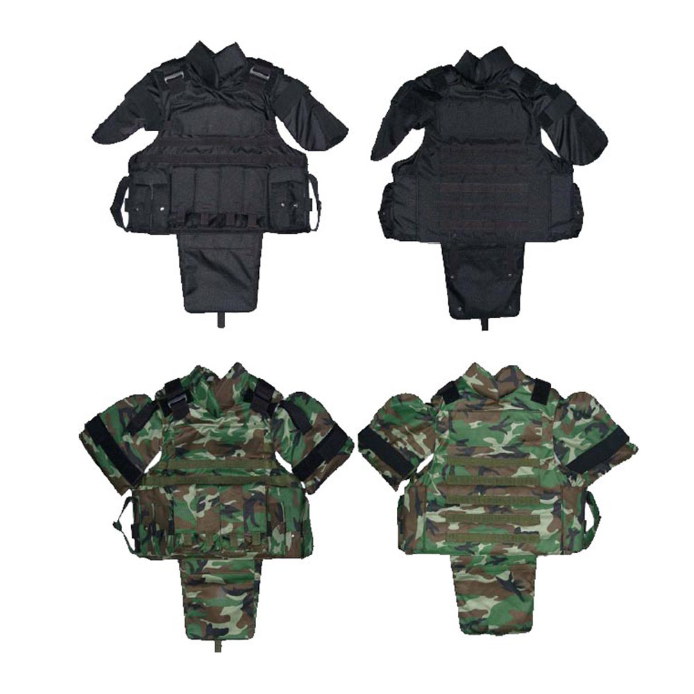 Advanced tactical full-coverage bulletproof vest